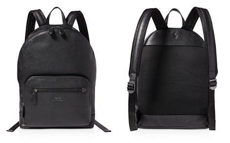 Polo Ralph Lauren Pebbled-Leather Backpack - Bloomingdale's_2