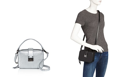 AQUA Tada Square Leather Crossbody - 100% Exclusive - Bloomingdale's_2