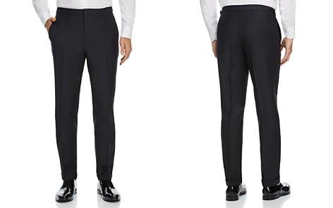 HUGO Textured Solid Slim Fit Tuxedo Pants - Bloomingdale's_2