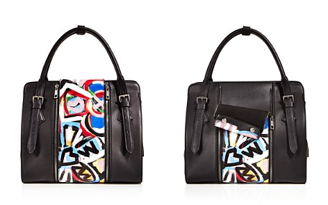 Love x Fashion x Art Floral Large Leather Satchel - Bloomingdale's_2