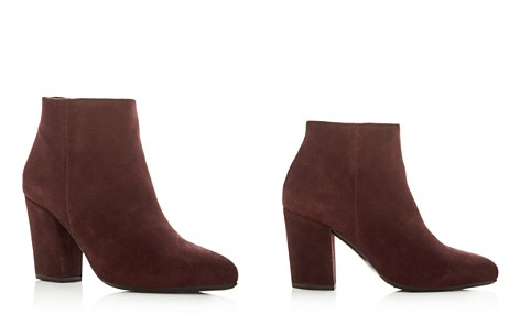 La Canadienne Women's Donna Waterproof Suede Cold Weather High-Heel Booties - Bloomingdale's_2