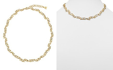 """Temple St. Clair 18K Yellow Gold Moonstone and Diamond Cluster Necklace, 18"""" - Bloomingdale's_2"""