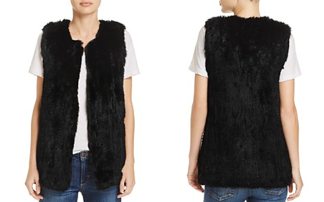 525 America Rabbit Fur Long Vest - 100% Exclusive - Bloomingdale's_2