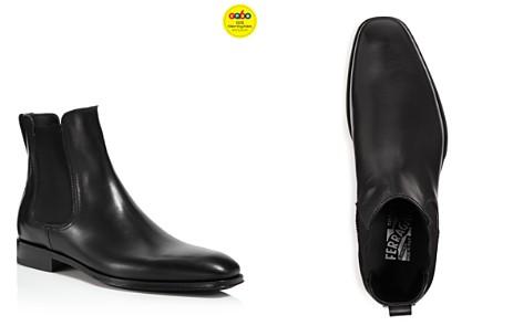Salvatore Ferragamo Men's Darien Leather Chelsea Boots - 100% Exclusive - Bloomingdale's_2