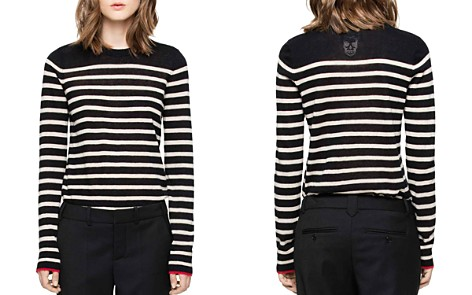 Zadig & Voltaire Miss Stripes Cashmere Sweater - Bloomingdale's_2