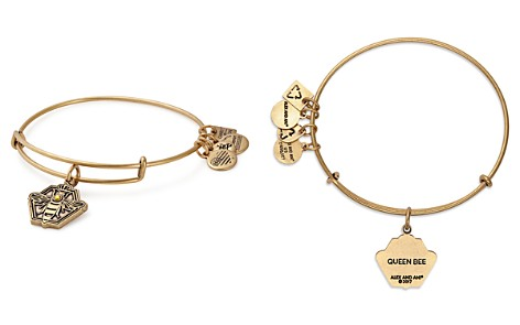 Alex and Ani Queen Bee Expandable Wire Bangle - Bloomingdale's_2