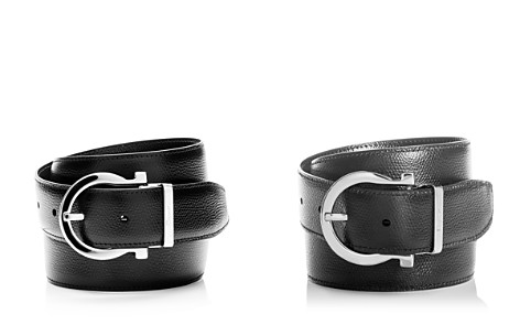 Salvatore Ferragamo Reversible Leather Belt - Bloomingdale's_2
