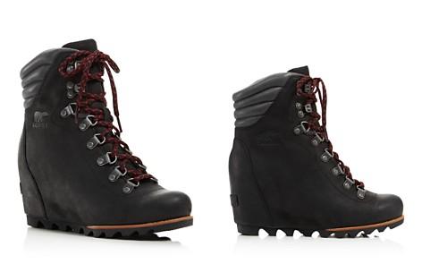 Sorel Women's Waterproof Leather Conquest Wedge Booties - Bloomingdale's_2