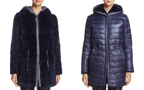 Maximilian Furs Reversible Rabbit Fur & Down Jacket - 100% Exclusive - Bloomingdale's_2