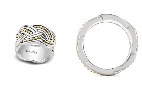 LAGOS 18K Gold & Sterling Silver Torsade Ring - Bloomingdale's_2