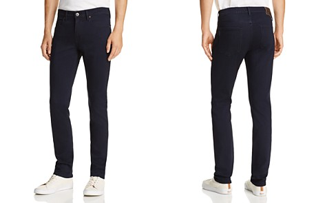 PAIGE Lennox Skinny Fit Jeans in Gisley - Bloomingdale's_2