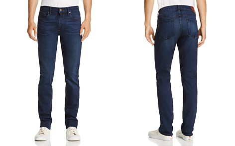 PAIGE Federal Slim Fit Jeans in Walsh - Bloomingdale's_2