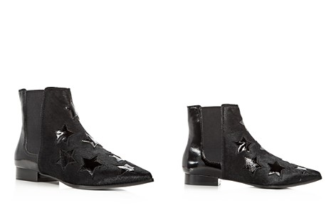 Ash Women's Bliss Calf Hair & Patent Leather Chelsea Booties - Bloomingdale's_2