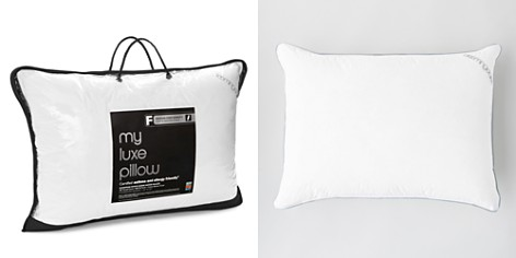 Bloomingdale's My Luxe Asthma & Allergy Friendly Medium/Firm Down Pillow, Standard/Queen - 100% Exclusive_2