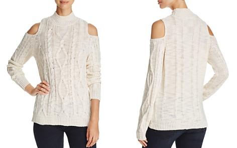 Alison Andrews Cold-Shoulder Mock Neck Sweater - Bloomingdale's_2