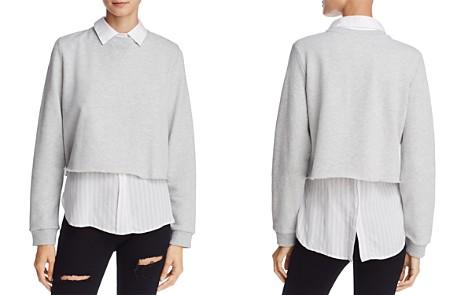 Rails Edson Layered-Look Sweatshirt - Bloomingdale's_2