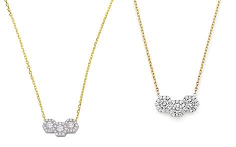 "Frederic Sage 18K White & Yellow Gold Firenze Triple Hexagonal Diamond Pendant Necklace, 16"" - Bloomingdale's_2"