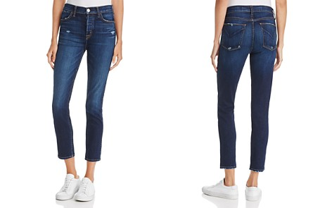 Hudson Holly High-Rise Cropped Skinny Jeans in Corrupt - Bloomingdale's_2