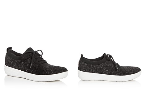 FitFlop Women's Sporty Uberknit Lace Up Sneakers - Bloomingdale's_2