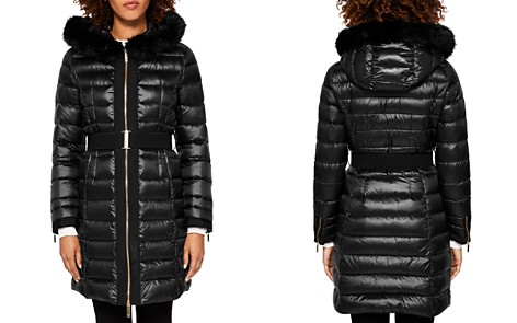 Ted Baker Amandea Faux Fur-Trim Hooded Down Coat - Bloomingdale's_2
