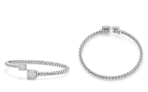 David Yurman Châtelaine Bypass Bracelet with Diamonds - Bloomingdale's_2