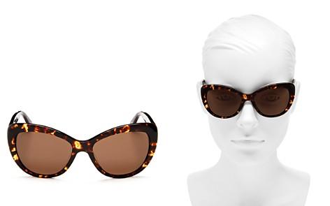 kate spade new york Emmalyn Polarized Cat Eye Sunglasses, 54mm - Bloomingdale's_2