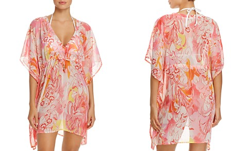 Echo Seaside Floral Tunic Swim Cover-Up - Bloomingdale's_2
