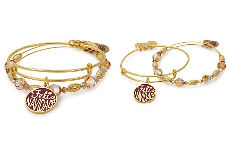 Alex and Ani Feliz Navidad Expandable Wire Bangles, Set of 2 - Bloomingdale's_2