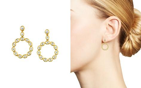 Gumuchian 18K Yellow Gold Diamond Oasis Circle Drop Earrings - Bloomingdale's_2