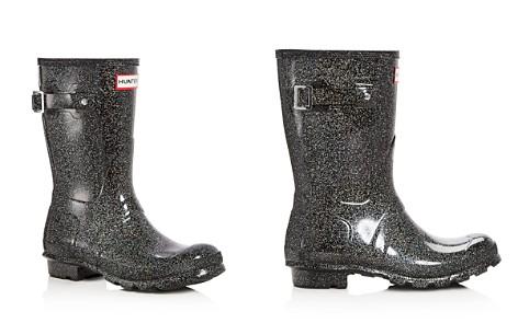 Hunter Women's Original Short Starcloud Glitter Rain Boots - Bloomingdale's_2