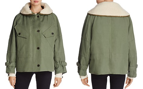 Burberry Pethford Shearling-Trimmed Parka - Bloomingdale's_2