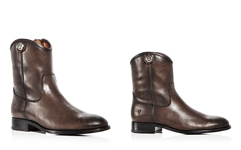 Frye Women's Melissa Button Leather Booties - Bloomingdale's_2