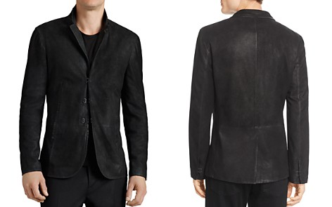 John Varvatos Collection Suede Hook And Bar Slim Fit Jacket - Bloomingdale's_2