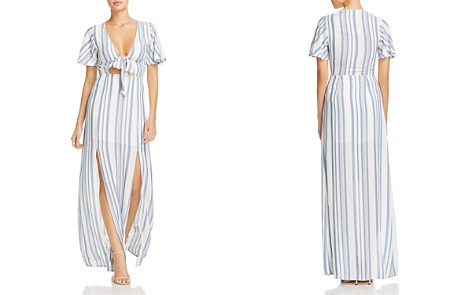 Lost + Wander Marina Striped Tie-Front Dress - Bloomingdale's_2