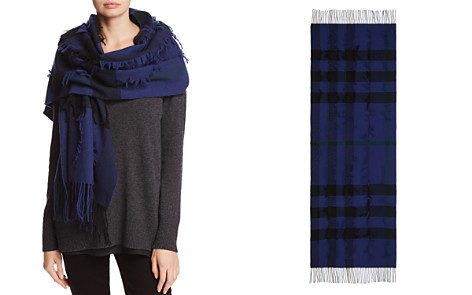 Burberry Mega Check Fil Coupe Scarf - Bloomingdale's_2