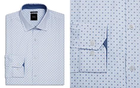 WRK Geometric Grid Slim Fit Dress Shirt - Bloomingdale's_2