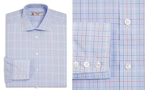 Turnbull & Asser Large Grid Regular Fit Dress Shirt - Bloomingdale's_2