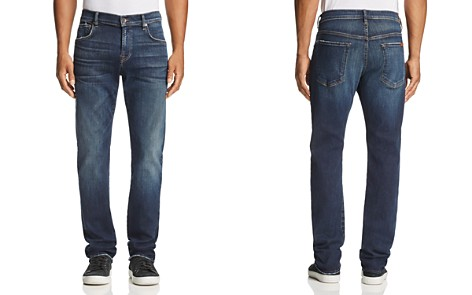 7 For All Mankind Luxe Sport Straight Fit Jeans in Authentic Reform - Bloomingdale's_2