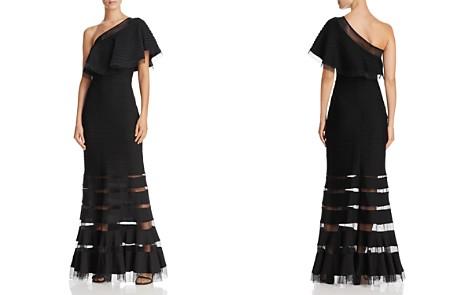 Tadashi Shoji One-Shoulder Pintuck Gown - Bloomingdale's_2