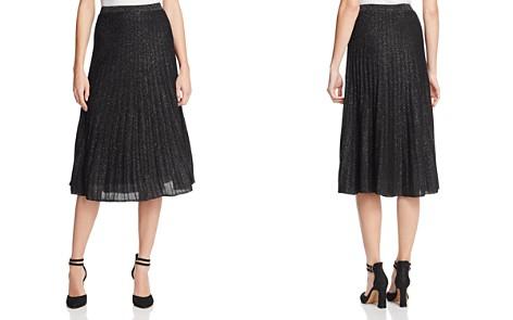 NIC and ZOE Luminary Pleated Metallic Knit Skirt - Bloomingdale's_2