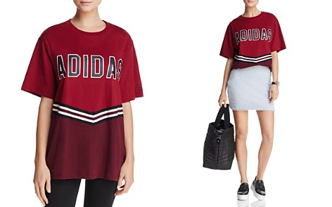 adidas Originals Adibreak Stripe-Detail Tee - Bloomingdale's_2