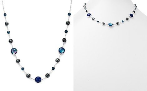 "IPPOLITA Sterling Silver Lollipop Lapis Triplet, London Blue Topaz & Hematite Necklace in Eclipse, 18"" - Bloomingdale's_2"