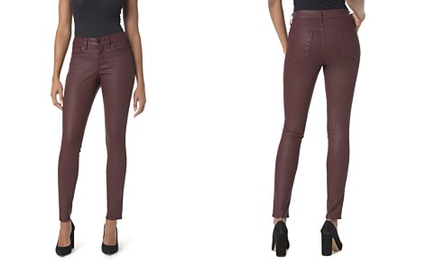 NYDJ Petites Ami Coated Skinny Legging Jeans in Deep Currant - Bloomingdale's_2