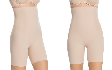 SPANX® Thinstincts High-Waisted Mid-Thigh Shorts - Bloomingdale's_2