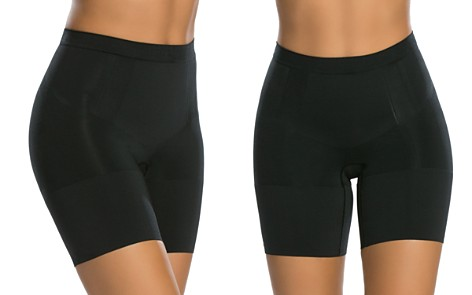 SPANX® OnCore Mid-Thigh Shorts - Bloomingdale's_2