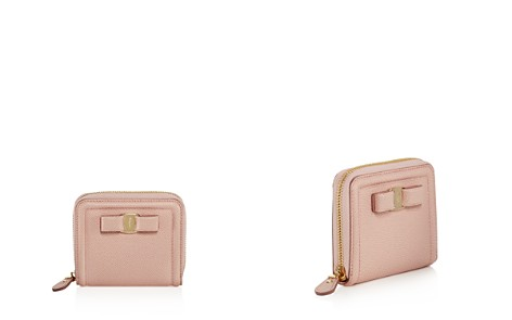 Salvatore Ferragamo Vara Bow Zip Leather Wallet - Bloomingdale's_2
