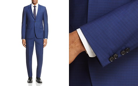HUGO Astian/Hets Slim Fit Shadow Check Suit - Bloomingdale's_2