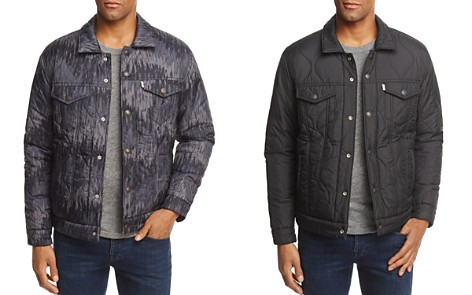 Levi's Camouflage Reversible Quilted Trucker Jacket - Bloomingdale's_2