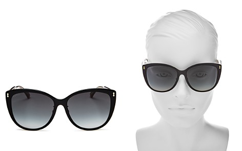 Gucci Women's Oversized Cat Eye Sunglasses, 58mm - Bloomingdale's_2