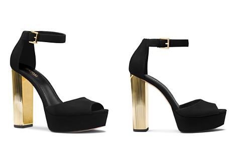 MICHAEL Michael Kors Women's Paloma Suede Platform Sandals - Bloomingdale's_2